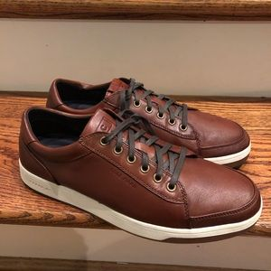 Cole Haan men's brown leather casual sz 9.5 M